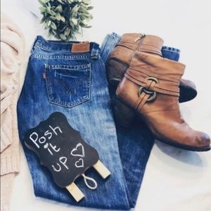 Gorgeous leather booties lined